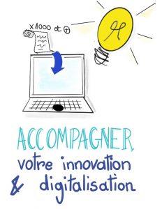 Accompagner votre innovation et digitalisation