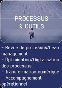 Processus et outils, transformation digitale