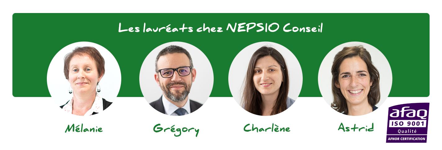 Lauréats NEPSIO Conseil Green Belt