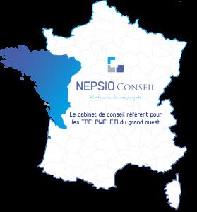 Zones d'intervention NEPSIO Conseil